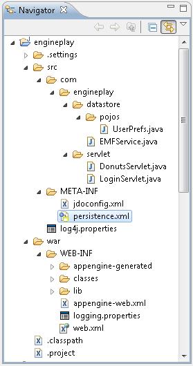 jpa_gae_project_structure